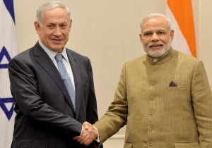 "The ""sky is the limit"" in Israeli-Indian relations, Netanyahu told his counterpart Narendra Modi."