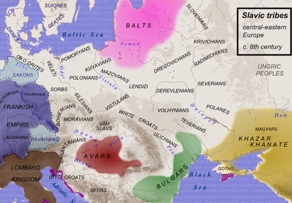 Slavic tribes