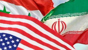 Syria and Iran have a long history of opposing the US.