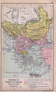 The Ottoman Europe, 1856−1878