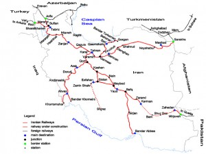 train-iran-map