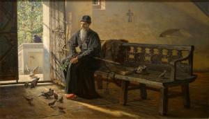 Tsar's silence (Pavel Ryzhenko, 2005). Source: http://павел-рыженко.рф/