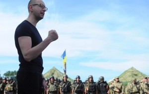 "Prime-minister Arseniy ""Yats"" Yatsenyuk stands behind most of escalating moves made by Kiev regime."