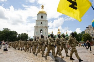 Azov battalion may be the changing force.