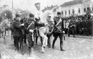 King Petar I of Serbia after coronation, 21 September 1904