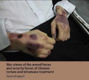 Report tortures Ukraine