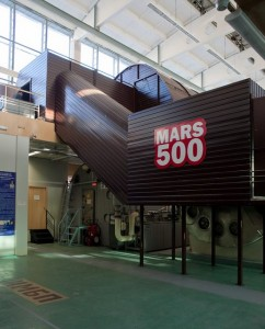 Mars-500 project Moscow-based testing module