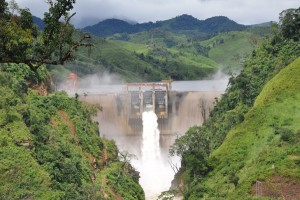 Lao PDR, Nam Ngum 5 Hydropower Project.