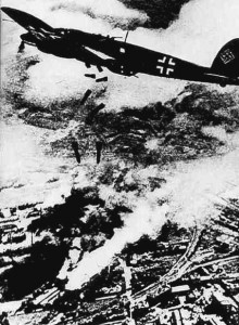 While the Luftwaffe were bombing Warsaw, British avieation was busy dropping propaganda leaflets over German cities.