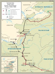 Central Asia South Asia Electricity Transmission and Trade Project - CASA 1000