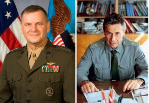 Co-authors of the op-ed in NYT, retired generals James E. Cartwright and Vladimir Dvorkin