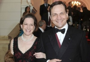 Radoslaw Sikorski and Anna Applebaum