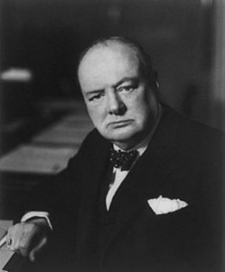 Winston Churchill gave the order to abandon France to her fate.
