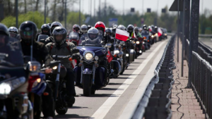 Warsaw's ban to enter the Poland for Moscow - Berlin Victory Day bike ride guaranteed public support and extra publicity for The Night Wolves.