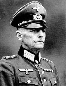 General Gerd von Rundstedt
