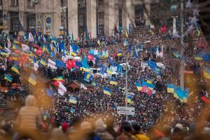 Euromaidan is the classic example of a legitimate public protest turning violent through  the hybrid warfare technics.
