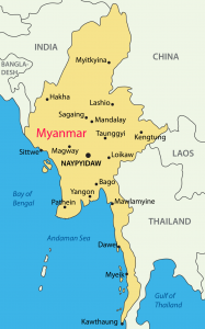myanmarmapwithcities