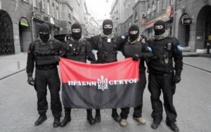Right Sector and other illegal armed gangs are trying to establish control over the whole territory of Ukraine.