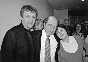 Alexander Litvinenko with Boris Berezovsky. Photo taken in January 2003.