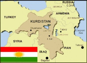 Kurdistan-Flag-and-Map
