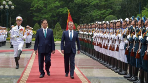 Vietnam joined free trade zone with the Russia-led Eurasian Economic Union earlier this year.