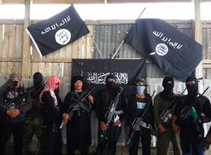 The Philippines-based terror group the Black Flag Movement (pictured) - known as the Khalifa Islamiah Mindanao has declared its support for ISIS.