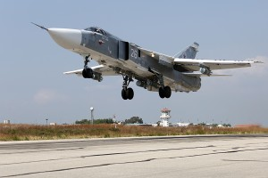 1.RF aircraft in Syria. Photo Russian DefMin