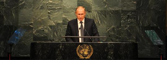 Putin's Global Game Changer