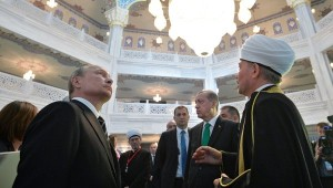 Most likely Erdogan will miss these moments soon (Turkish president at the opening of Grand Moscow Mosque, Sept 2015)