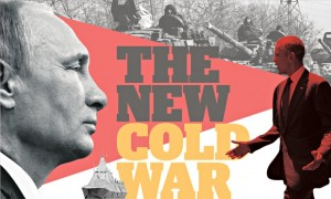 Cold war Putin and Obama