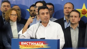 Macedonia opposition leader Zoran Zaev