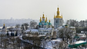 Kievo-Pecherskaya Lavra, the principal monastery of the Ukrainian Orthodox Church of the Moscow Patriarchate, is receiving threats of capture by nationalists since February 2014