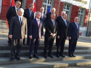 Latest meeting of the Minsk Group (Armenia, Azerbaijan, Russia, France, USA and some European countries) took place in December 2015 in Switzerland.