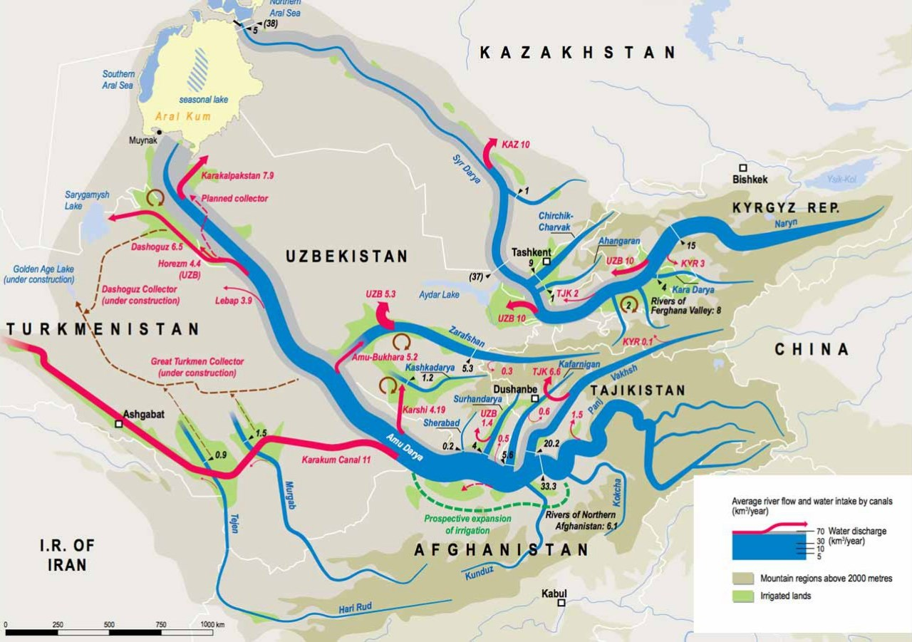 Water resources of Central Asia