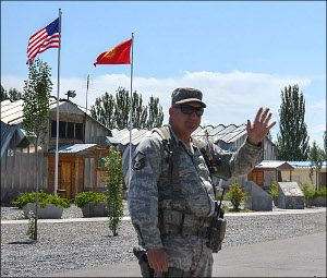 The US air base Manas in Kyrgyzstan was operational in 2001-2014