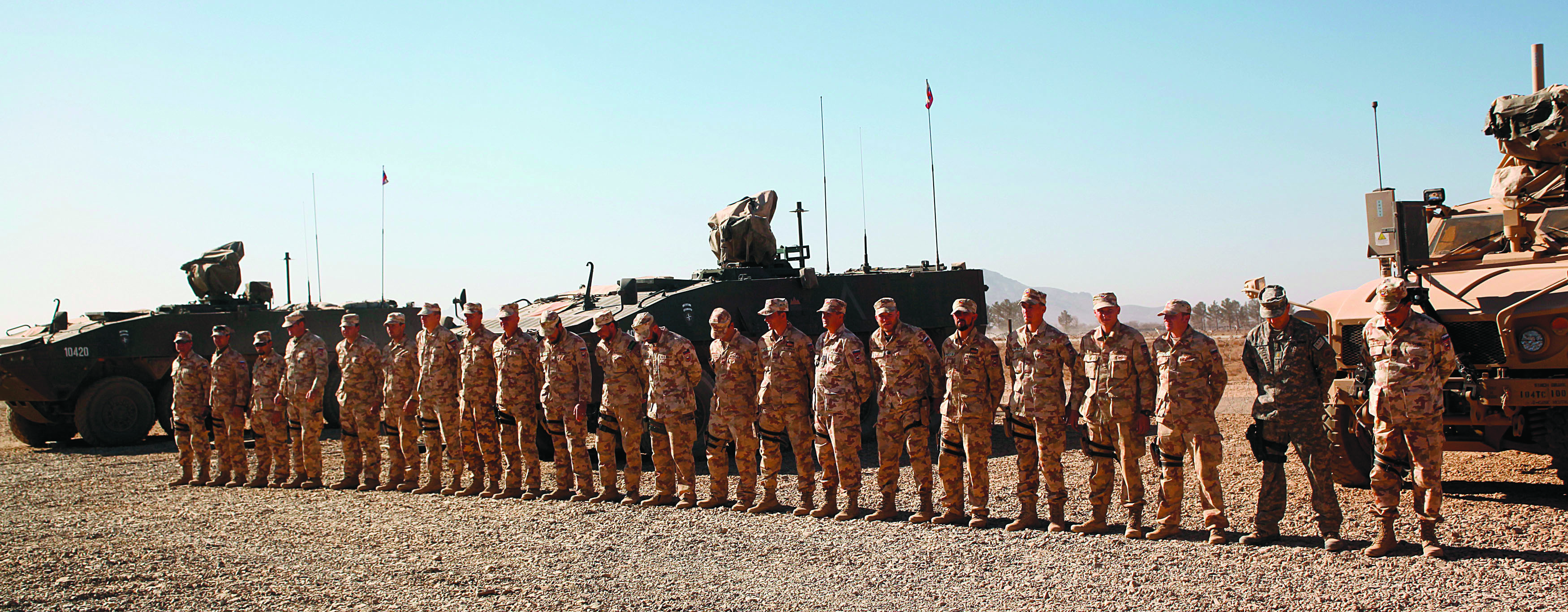 Slovenian servicemen serve the U.S. interests in Gerat province, Afghanistan, 2010.