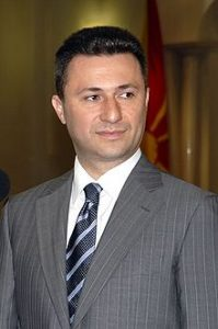 PM of Macedonia Nikola Gruevski