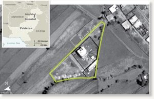 Bin Laden's lair: The compound in Abbottabad, Pakistan, was half a mile from a military academy.