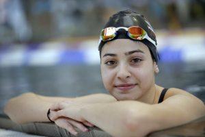 Syrian swimmer Yusra Mardini