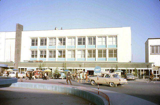 Kyber Restaurant in Kabul, 1970s