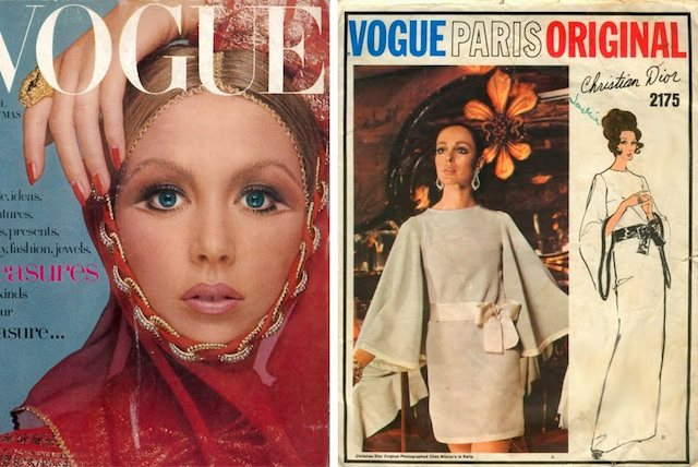 "December 1969 VOGUE magazine issue titled ""Afghan Adventure"""