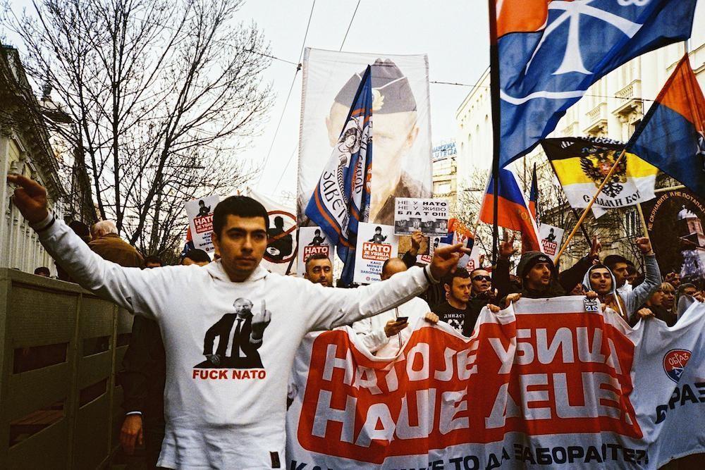 Serbia And Poland Alt Medias Biggest Reversal : serbia anti nato protests putin from www.strategic-culture.org size 1000 x 667 jpeg 169kB