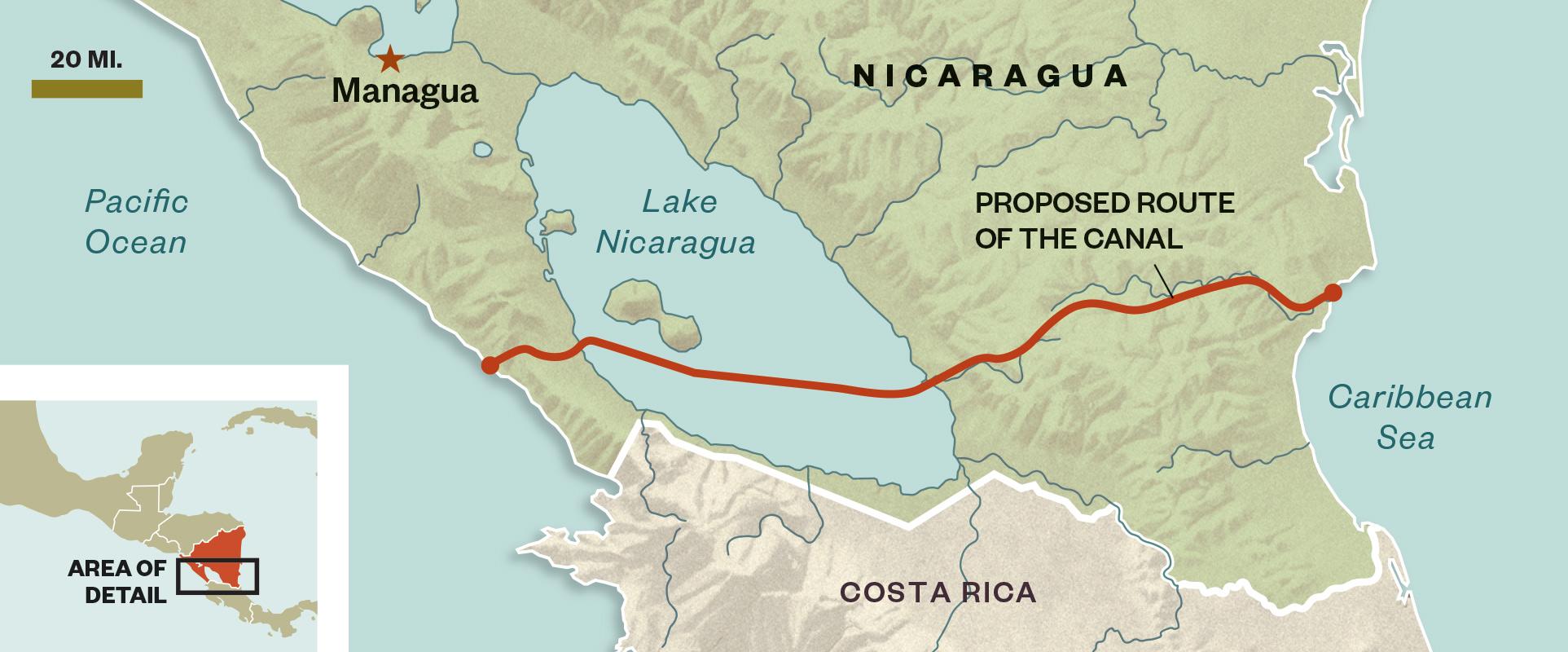 Nicaragua channel