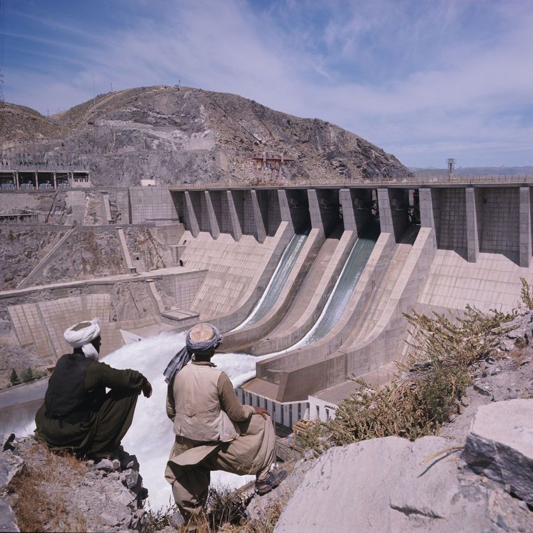 Naglu hydro-electric power station constructed by the Soviet Union for Afghanistan