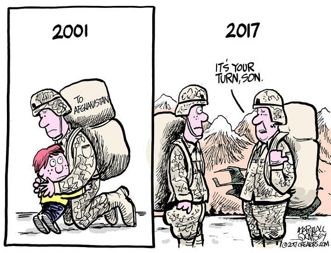 US troops: 16 years in Afghanistan