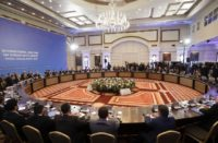 Astana talks on Syria ballroom