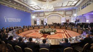 Astana talks on Syria ballroom