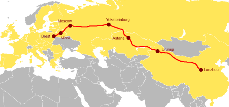 The New Eurasia Land Bridge Economic Corridor
