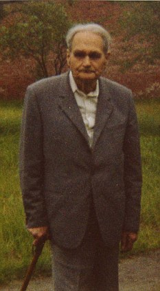 Rudolf Hess in Spandau prison, 1987