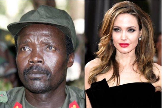 Joseph Kony & Angelina Jolie